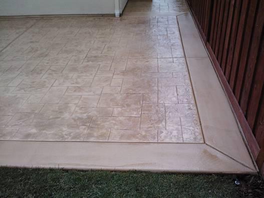 Chula Vista Stamped Concrete Contractor Chula Vista Concrete Company
