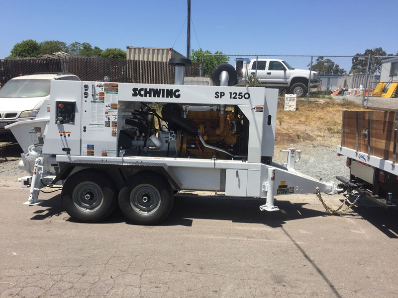 San Diego Concrete Pumping 1